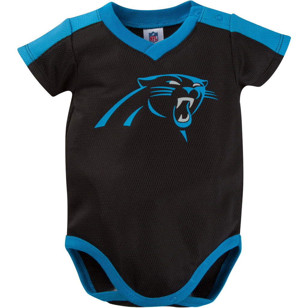 cheap for discount f29d6 82287 Panthers Baby Jersey Onesie