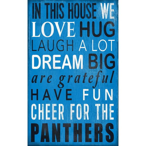 Panthers Baby Nursery Wall Art