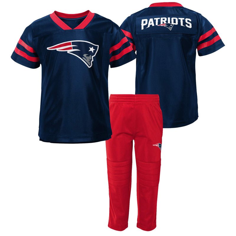 Patriots Jersey Style Shirt and Pants Set