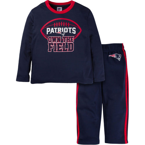 Patriots Long Sleeve Shirt and Pants Set