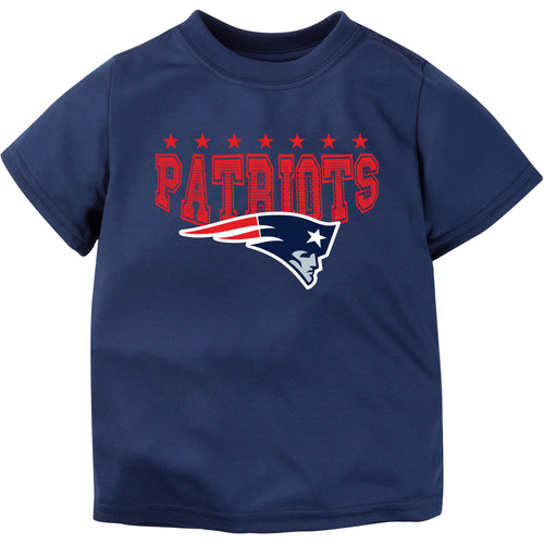 Patriots Toddler Performance Short Sleeve Tee (12M-4T)