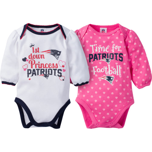 Patriots Baby Princess Bodysuit Set