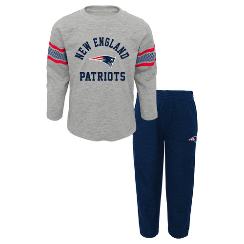 Patriots Long Sleeve Shirt and Athletic Style Pants Set