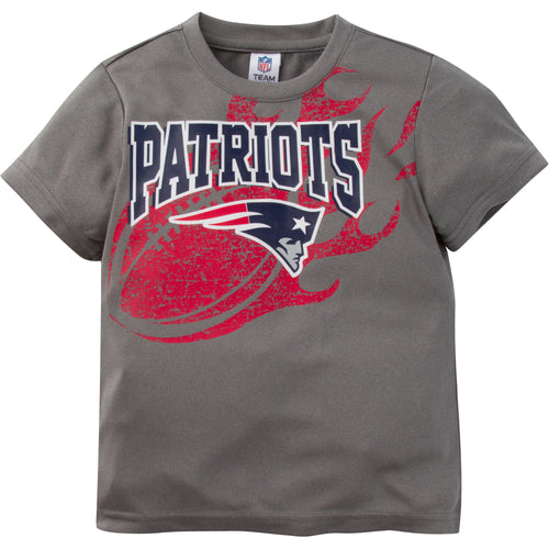 Patriots Athletic Short Sleeve Tee (12M-4T)