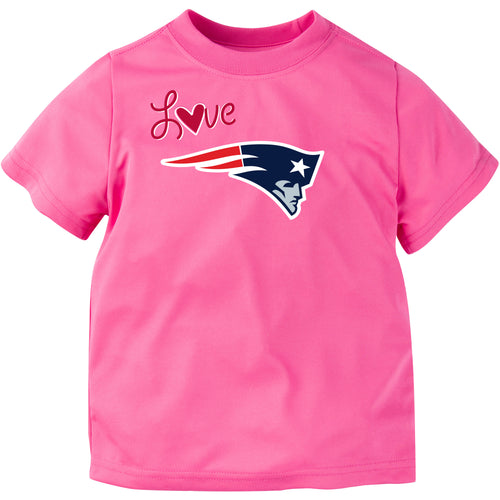 Patriots Toddler Girl Tee