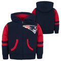 New England Patriots Zip Up Sweatshirt