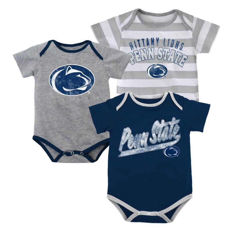 Baby Penn State Outfits (3-Pack)