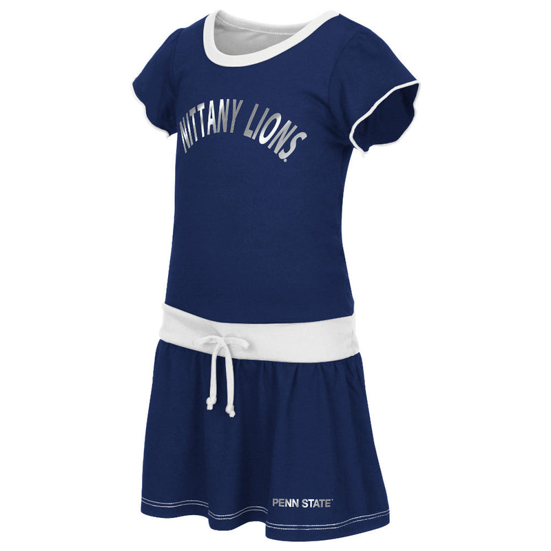 Nittany Lions Tot Tie Front Dress