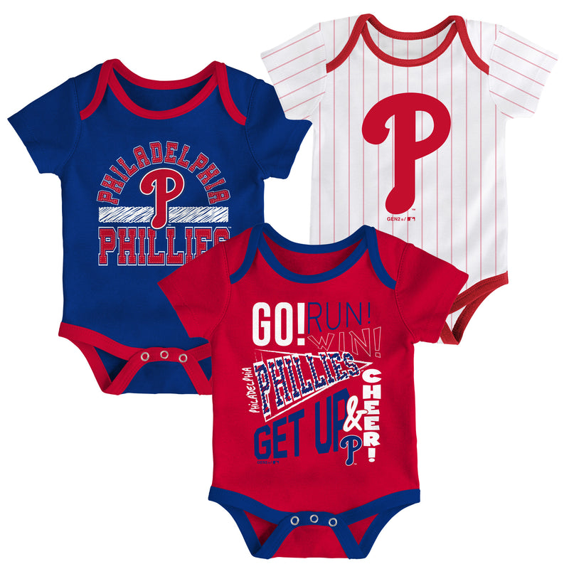 Phillies Get Up and Cheer 3 Pack
