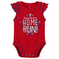 Phillies Diamond Girl 2 Piece Bodysuit Set