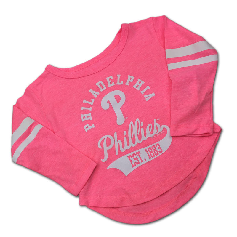 Phillies Pink Kid's Classic Tee