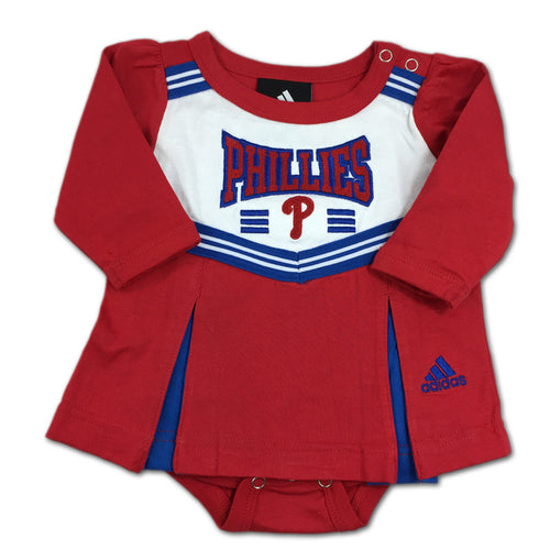 Infant Phillies Onesie Dress