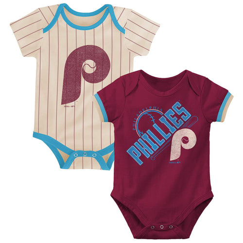 Phillies Retro Team Bodysuits