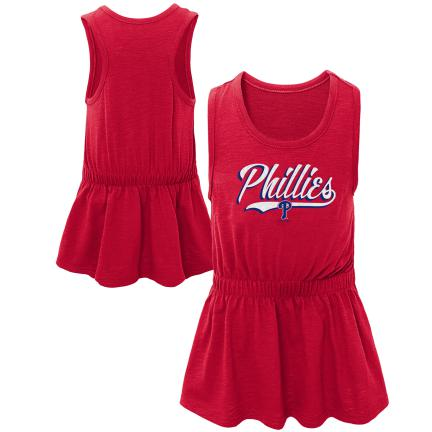 Phillies Baseball Tank Dress