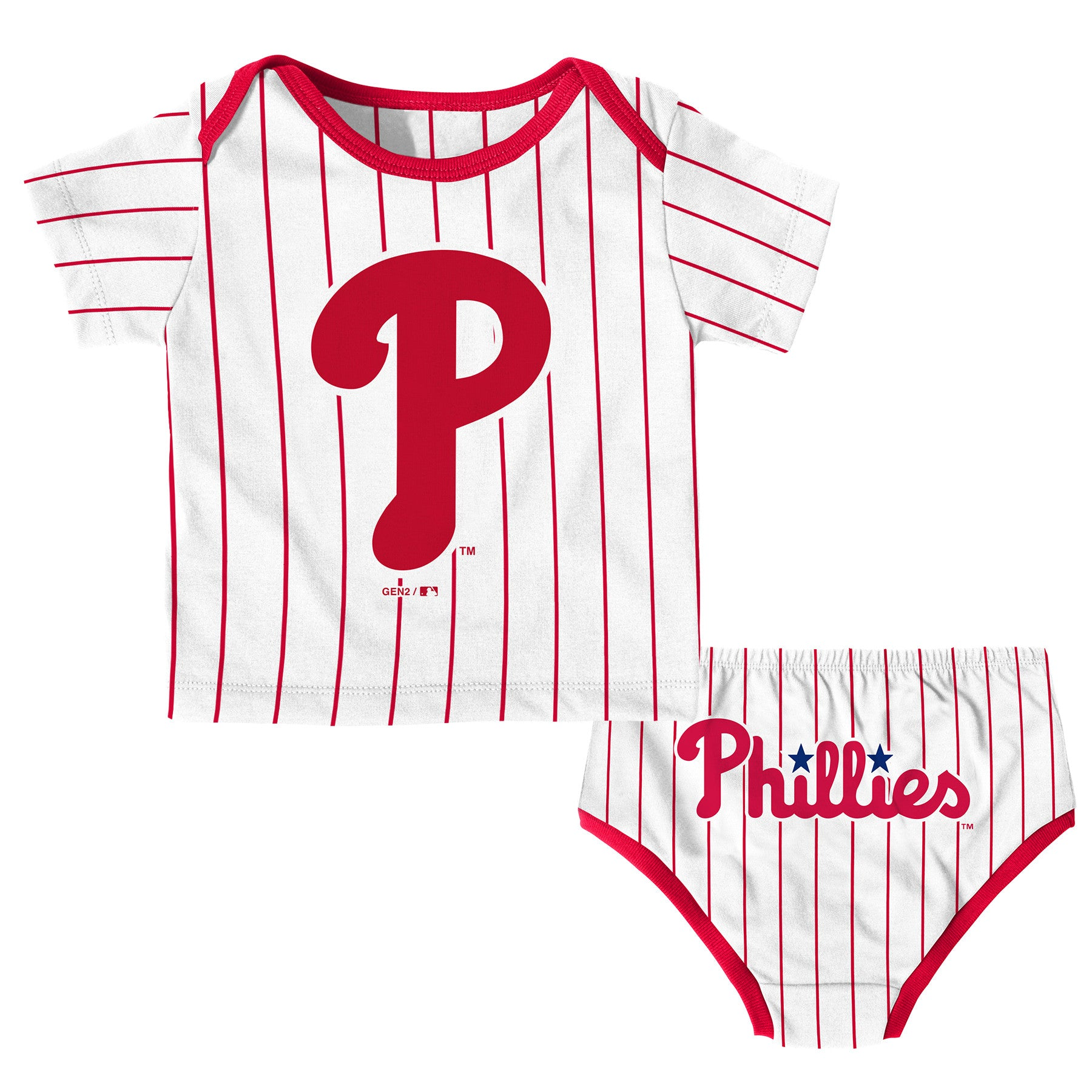 best service 5859b 279e5 Philadelphia Phillies Baby Boy Uniform Set