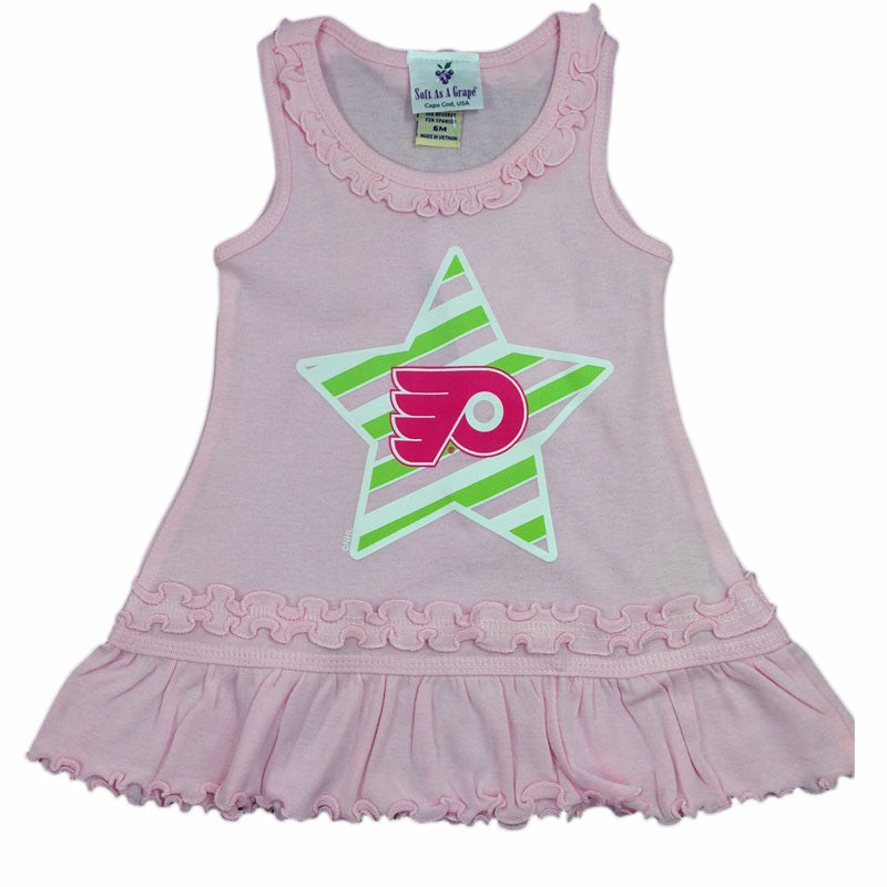 Philadelphia Flyers Infant Pink Dress