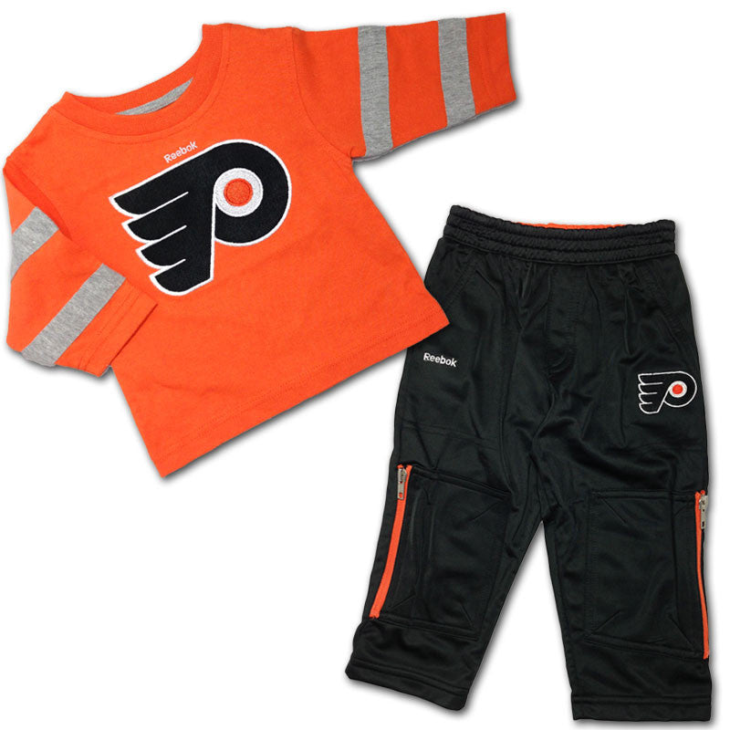 Philadelphia Flyers Long Sleeved Tee & Pants Set