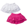 Double-Cuteness Infant and Toddler Girl Skorts