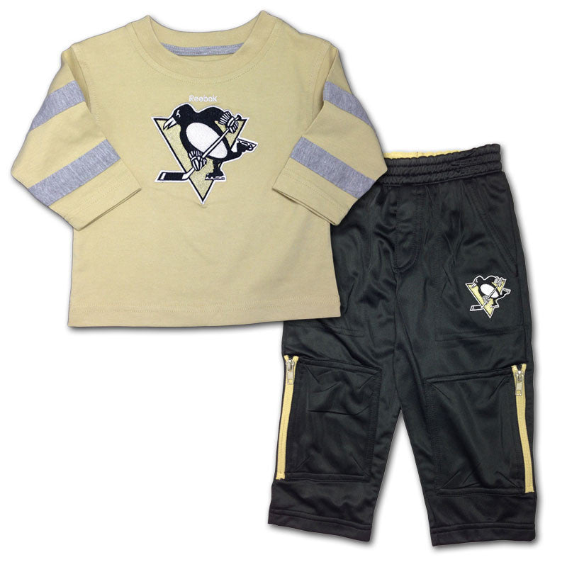 Pittsburgh Penguins Long Sleeved Tee & Pants Set