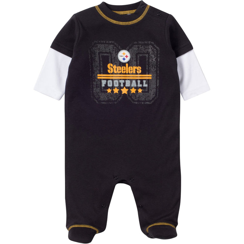 Baby Steelers Fan Sleep & Play