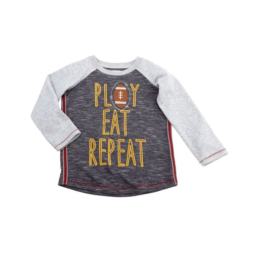 Play Eat Repeat Thanksgiving Tee