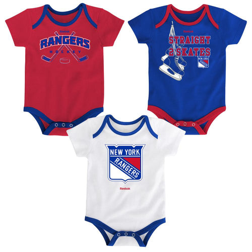 Rangers Infant 3 Piece Bodysuit Set