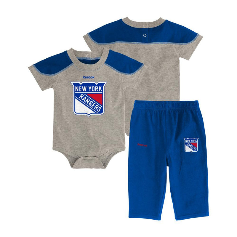 Rangers Future Star Short Sleeve Onesie and Pant Set