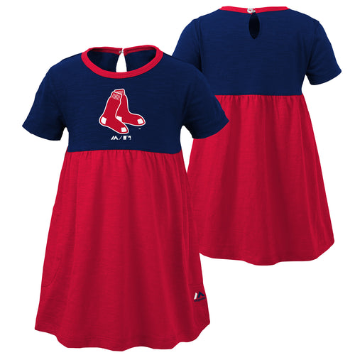 Red Sox Baby Doll Dress