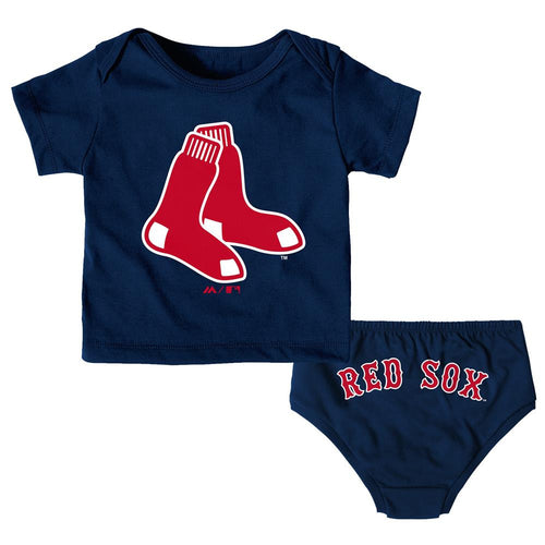 Red Sox Newborn Uniform Outfit