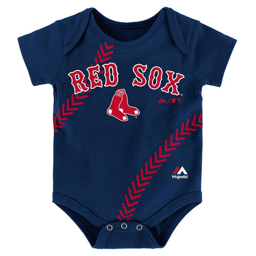 Mlb baby clothing boston red sox babyfans babyfans red sox baby home run creeper negle Image collections