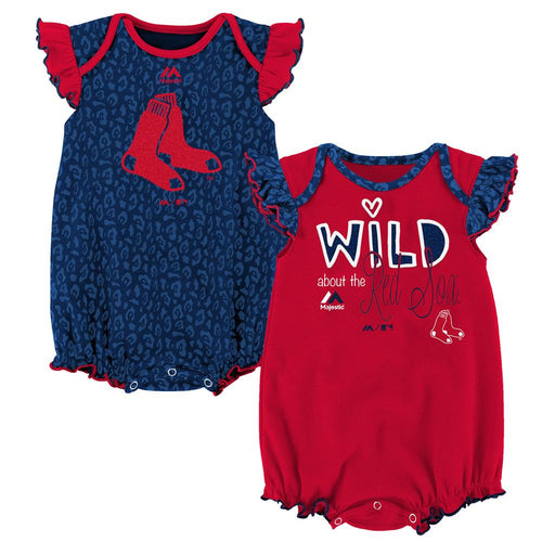 Wild About the Red Sox Onesie Duo