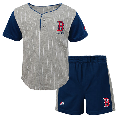 Red Sox Bat Boy Short Set