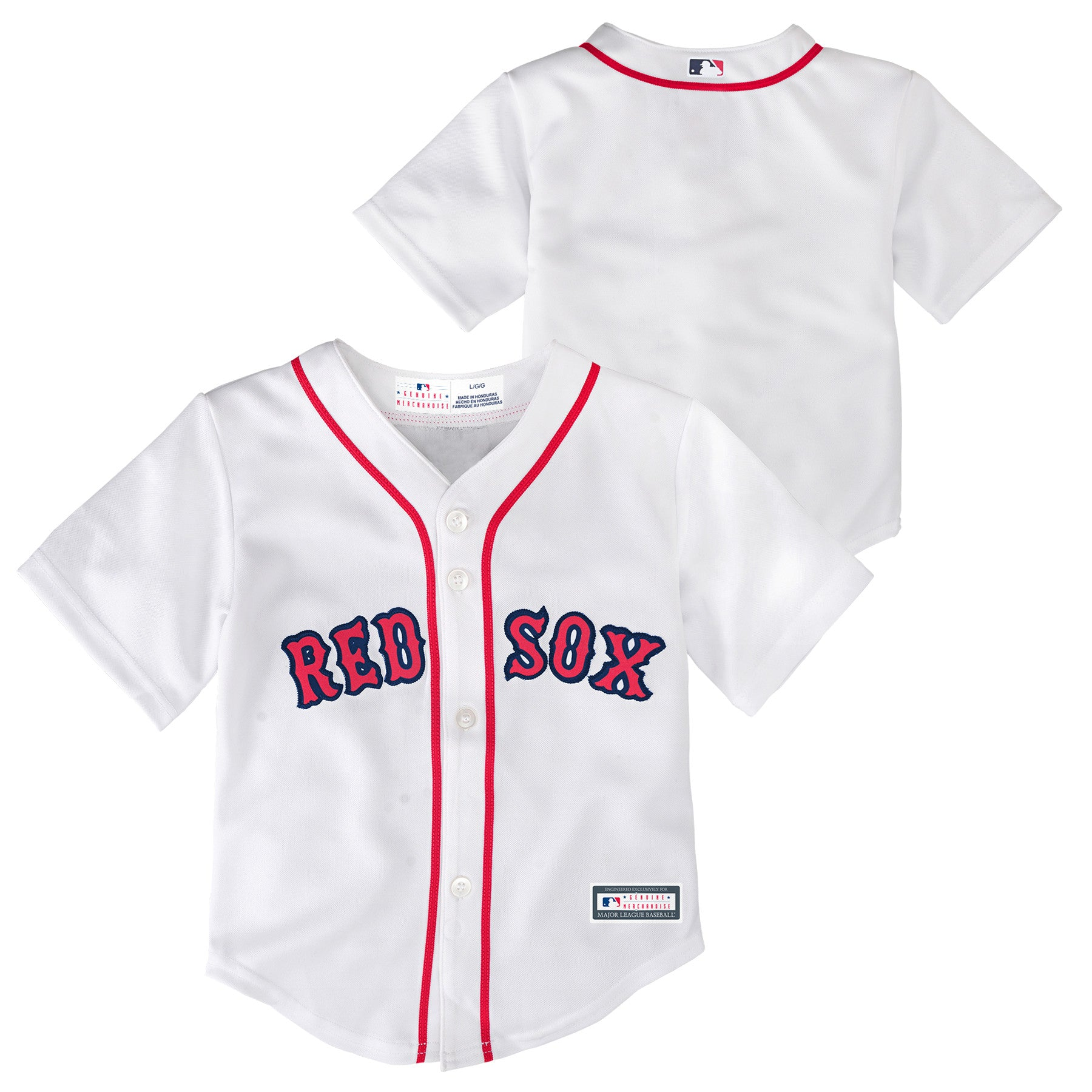 Red Sox Baby Home Team Jersey Babyfans