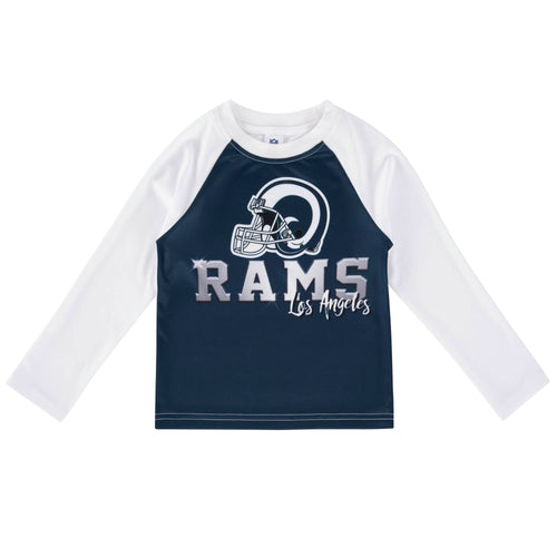 Rams Team Color Long Sleeve Tee