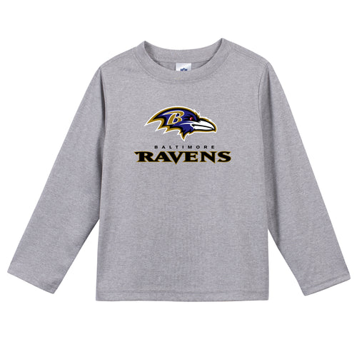 Baltimore Ravens Boys Long Sleeve Tee