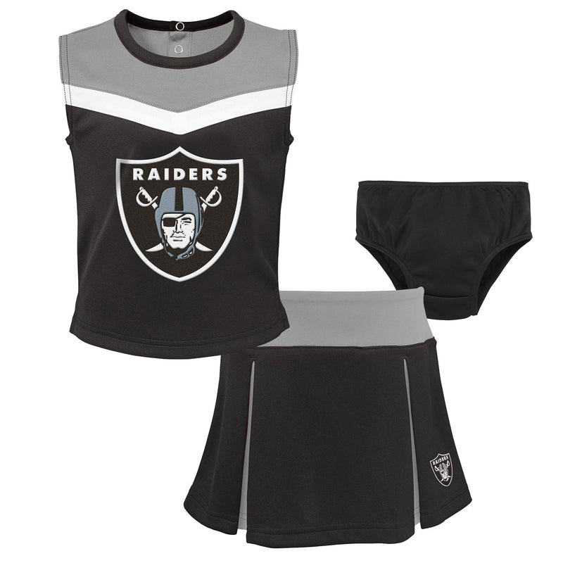 Raiders Girl 3 Piece Cheerleader Set