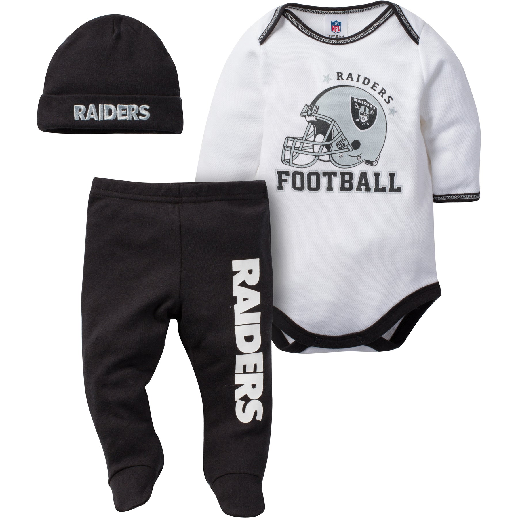 Raiders Baby 3 Piece Outfit – babyfans c41197193