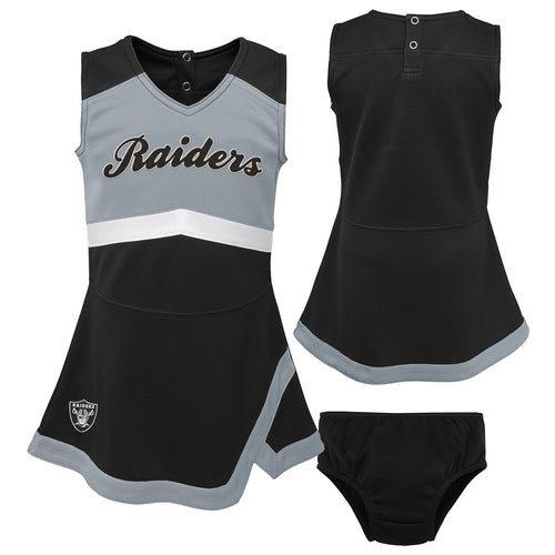 Oakland Raiders Infant Cheerleader Dress