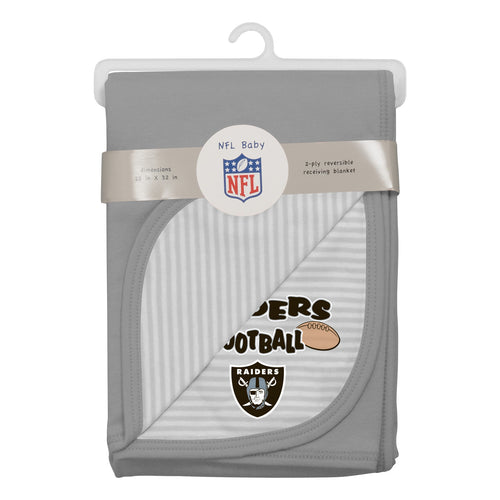 Raiders Newborn Baby Blanket