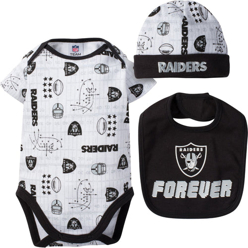 Raiders Fan Forever Outfit