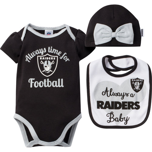 Always a Raider Baby Outfit