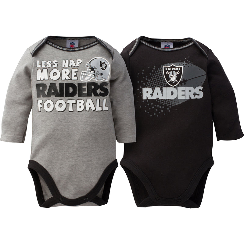 Baby Raiders Long Sleeve Onesie Two Pack