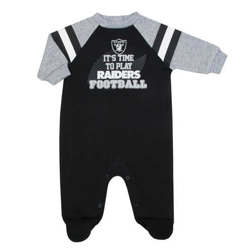 Raiders Baby Football Sleep N Play