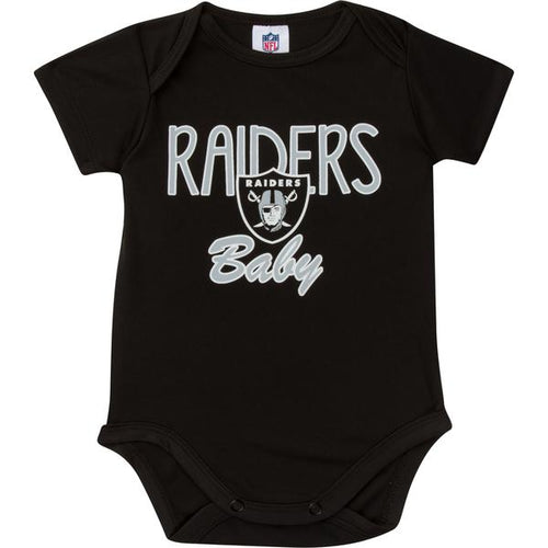 Raiders Baby Boy Short Sleeve Bodysuit