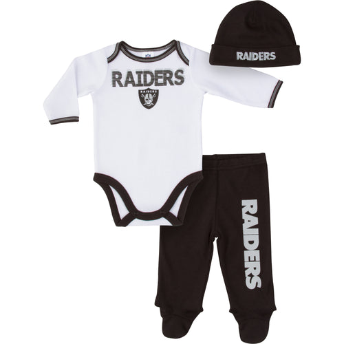 Raiders Baby Boy Outfit