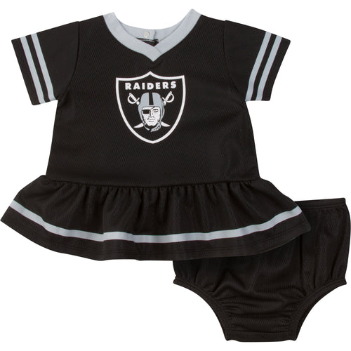 Raiders Infant Dress