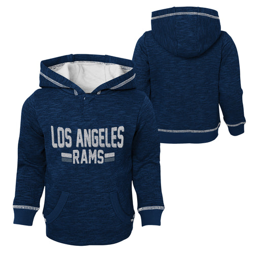 Rams Pullover Sweatshirt with Hood