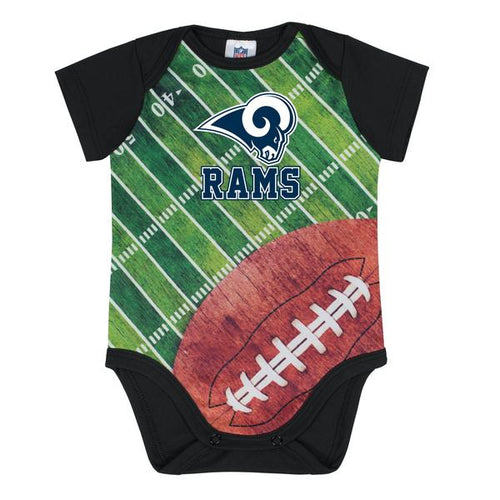 Rams Baby Boy Short Sleeve Bodysuit