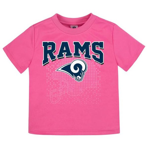 Rams Girls Short Sleeve Tee Shirt