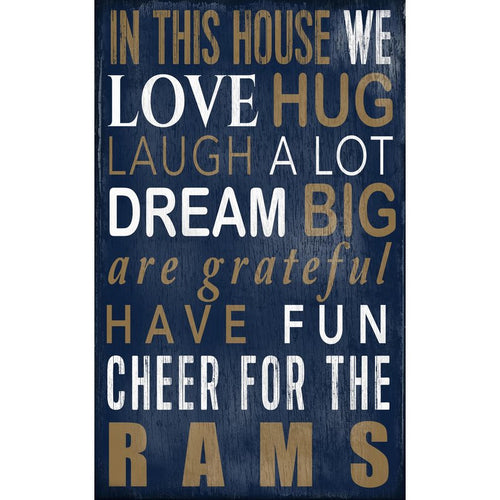 Rams Baby Nursery Wall Art